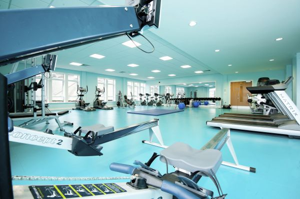 crossley heath workout room