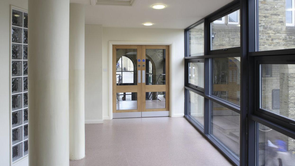 View of some doors