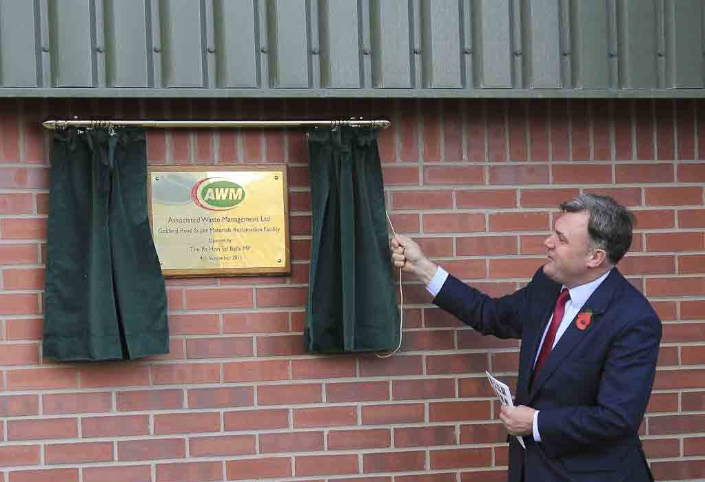 Ed Balls opening the office development