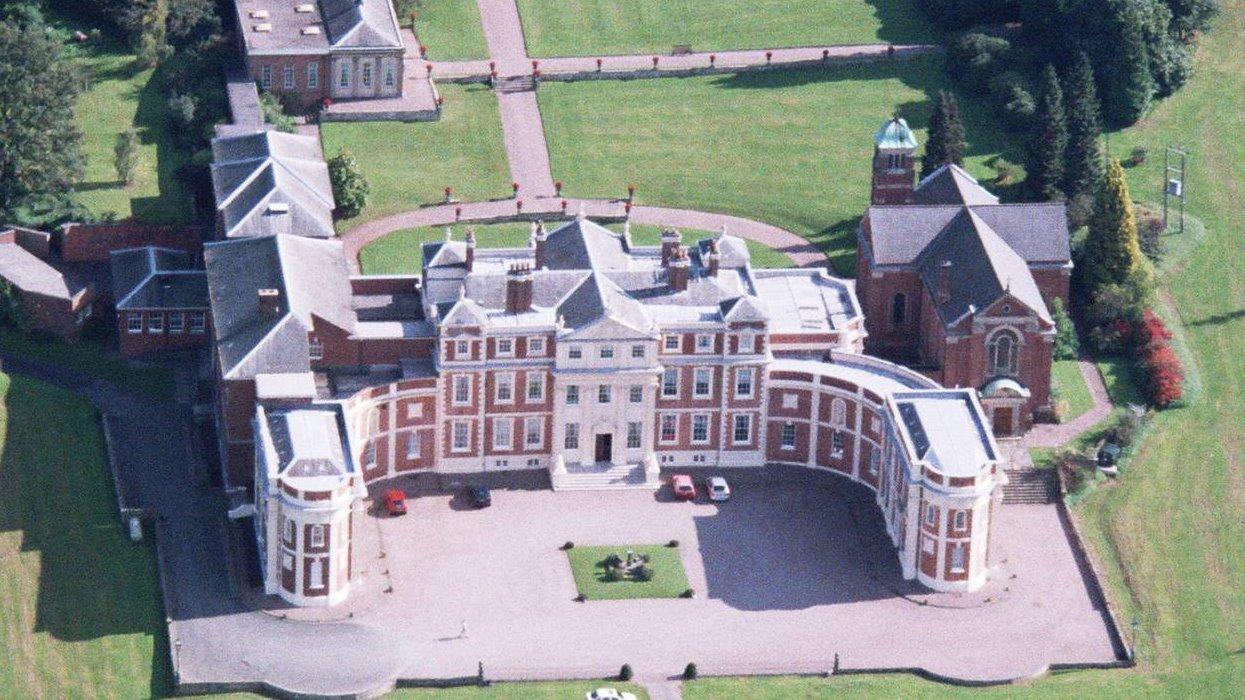 Hawkstone Hall Aerial