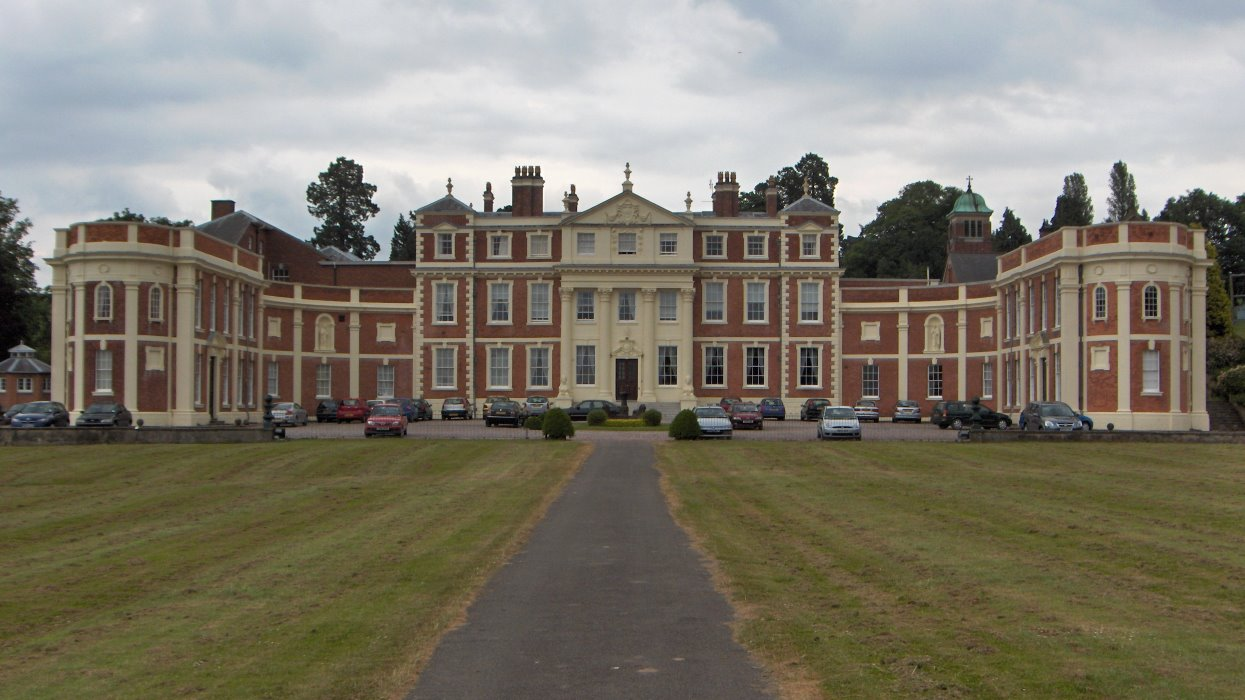 Hawkstone Hall Front View